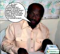 Entretien entre le president du PSD et les journalistes Béninois.