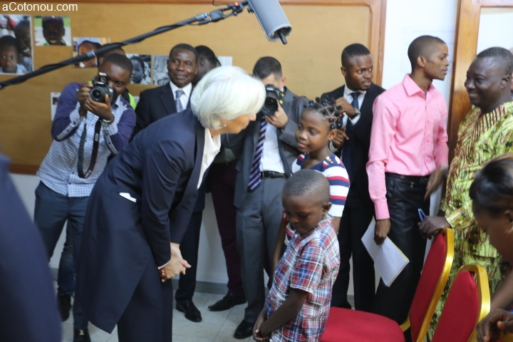 Visite de Christine Lagarde au Bénin du 10 au 12 décembre